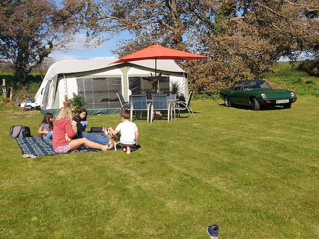 Idyllic couples retreat in a rural Pembrokeshire
