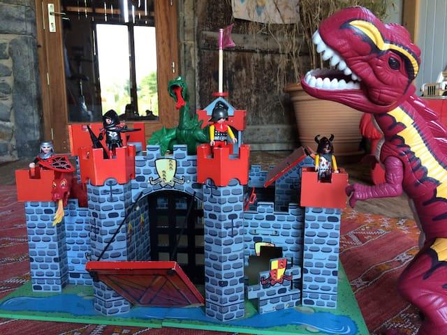 Des jeux pour les chevaliers