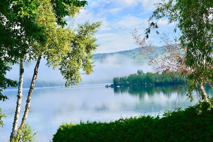 Chalet lake Massawippi - Estrie