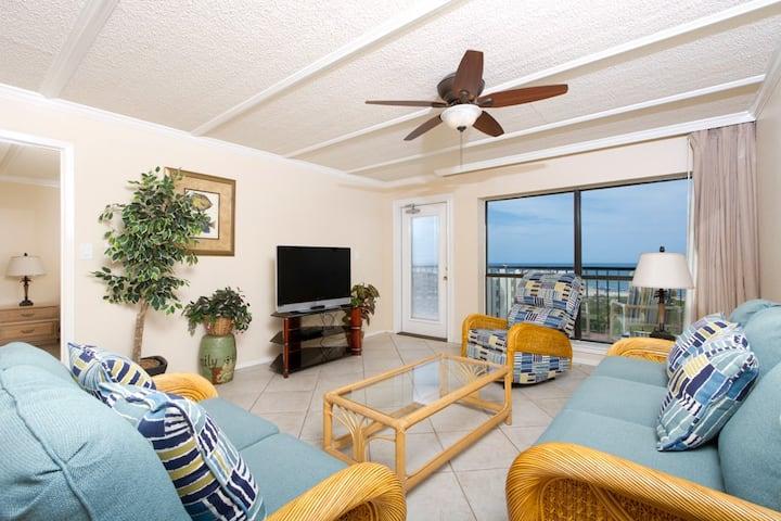 Amazing 8th Floor 2 Bedroom in Saida Towers