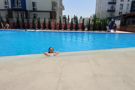 Apartment with swimming pool in Tbilisi