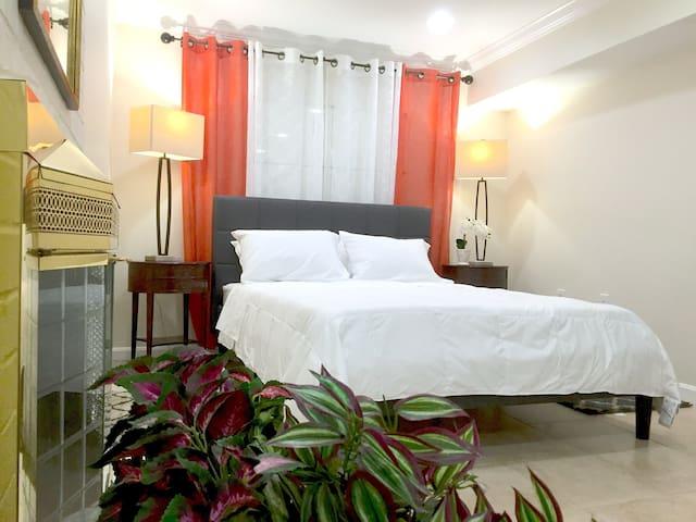 1 BR Spacious Basement Apartment DC20m Dulles 5m - Herndon - Townhouse