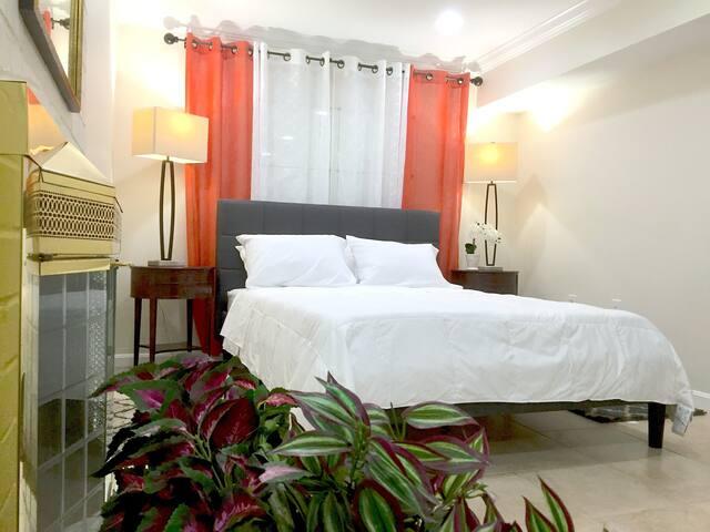 1 BR Spacious Basement Apartment DC20m Dulles 5m - Herndon - Adosado