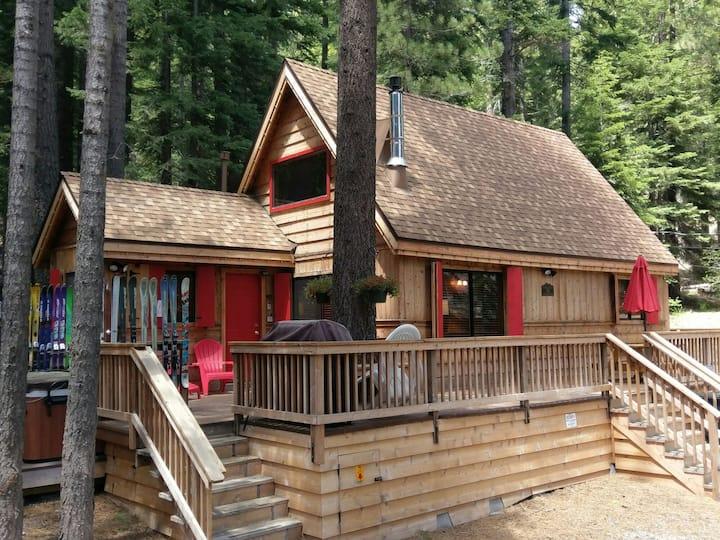 3 Bears Cabin: Short & Long Term-Dog OK-Hot Tub