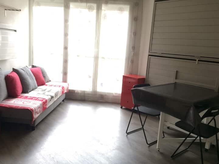 Studio lumineux + parking couvert Barèges Pyrénées