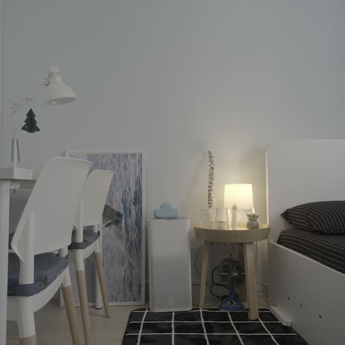 客房 | 床边设备、空气净化器