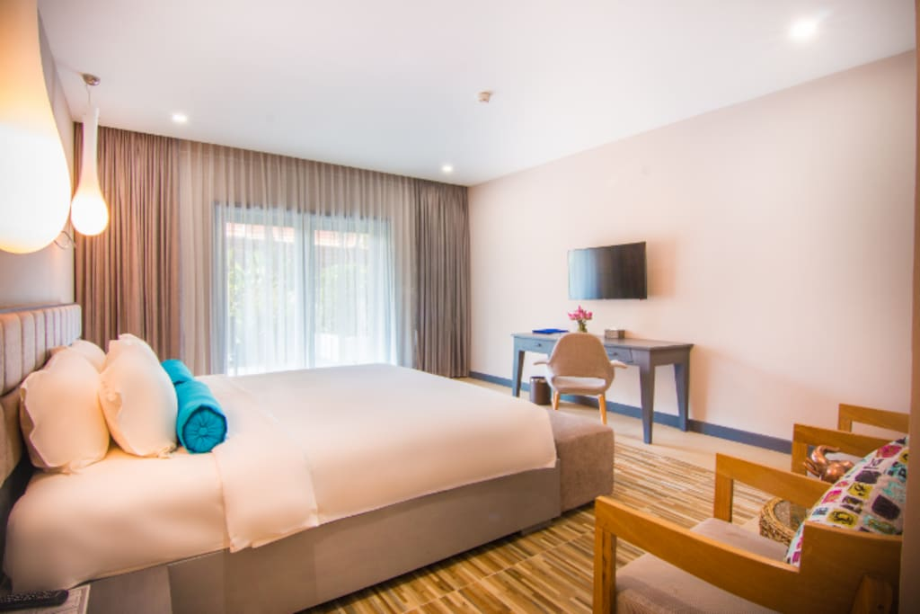 Group booking 4 double room and 4 twin room