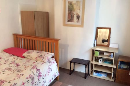 Nice spacious private room with double bed