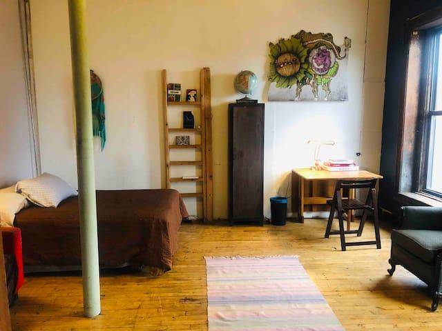 Inspiring room in Art Gallery