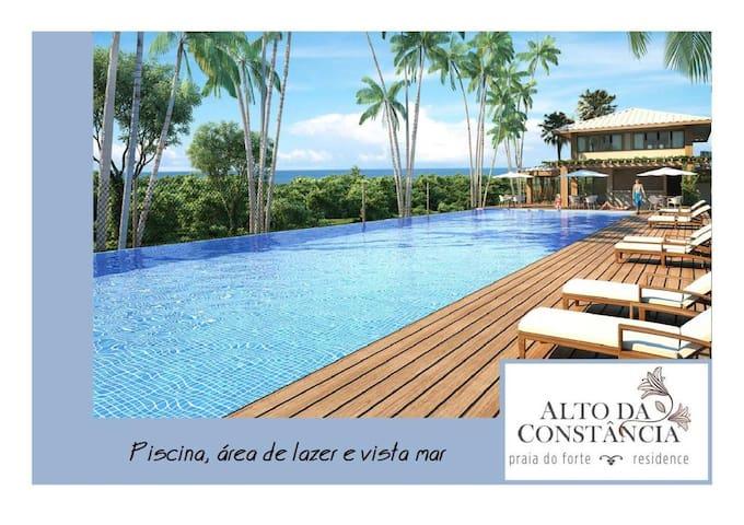 """Hospedaria """"Alto Constancia Suite2"""" Praia do Forte"""