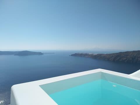 Caldera View, Honeymoon Suite, Jacuzzi