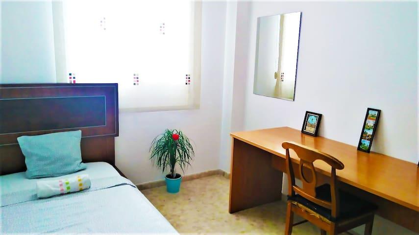 habitacion para una persona