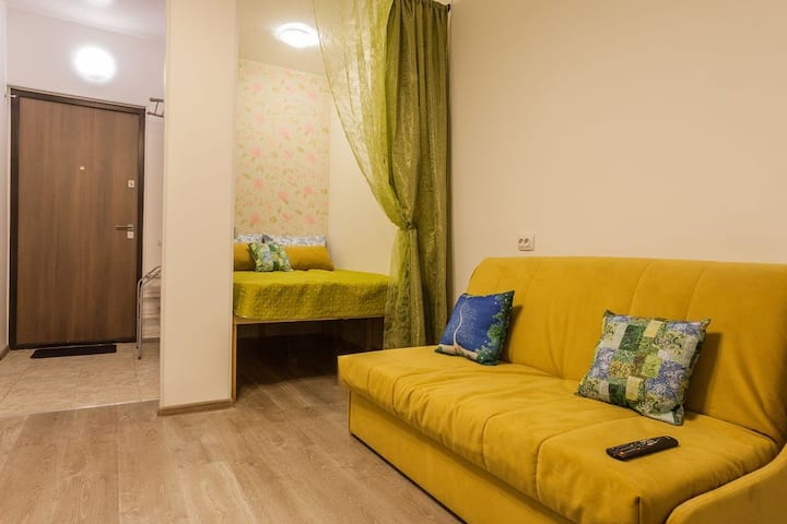 """Fresh"" Apartment in Chalet de Provence Kolomenskaya"