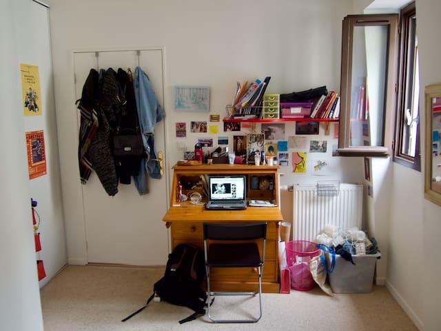 Chambre cosy dans colocation calme