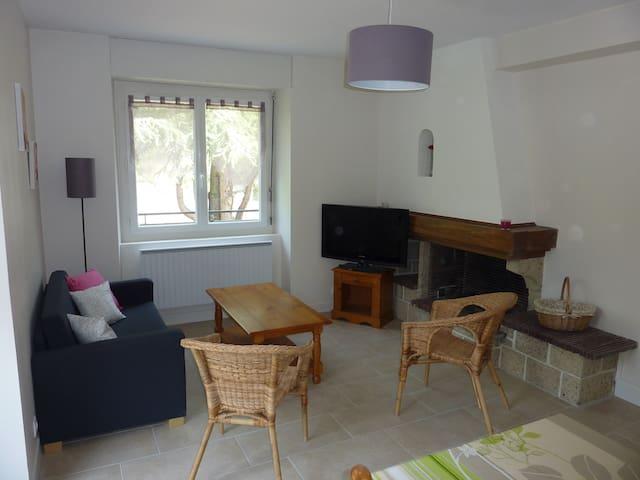 Appartement rénové avec balcon - Saint-Nectaire - Byt