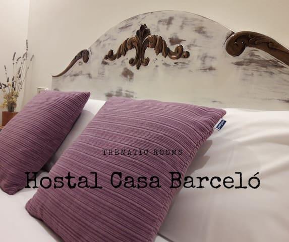 Hostal Casa Barceló, Orta  en 12 habitaciones.