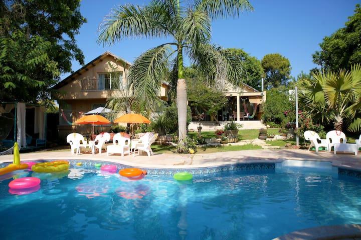 Amazing villa outside of Tel-Aviv
