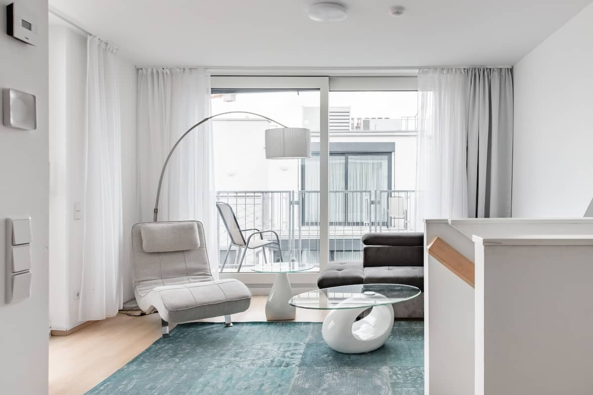 Soak up the Light at a White Penthouse near the Karlskirche