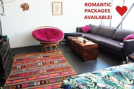 ★ Romantic Loft Escape with Open Air Cinema ★ - Abbotsford