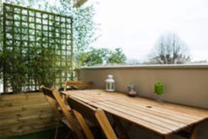 Chambre dans grand appart Chartrons/Jardin public
