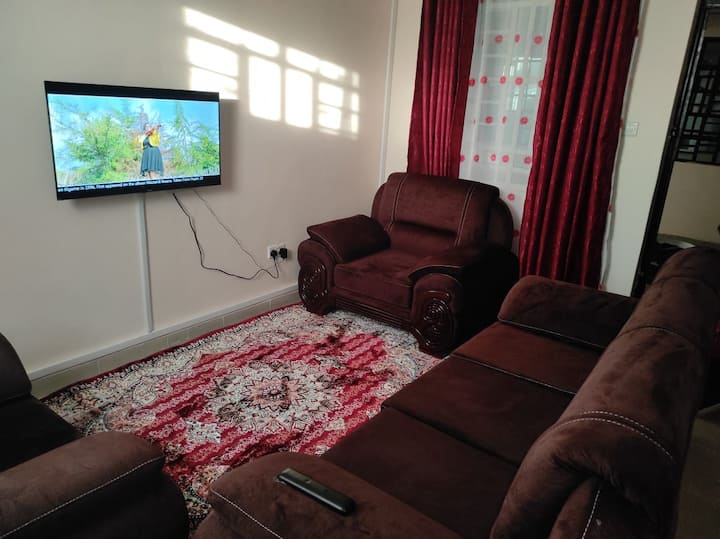 Modern & Furnished 1-Bedroom Unit in Thika Town