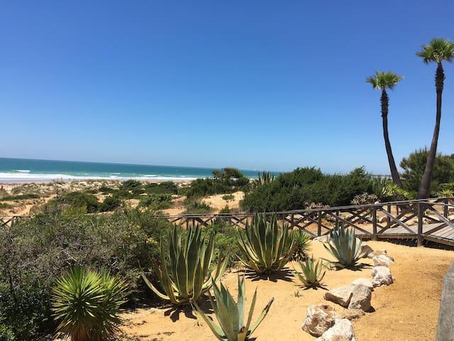 Casa mejor sitio Novo Sancti Petri. playa-golf