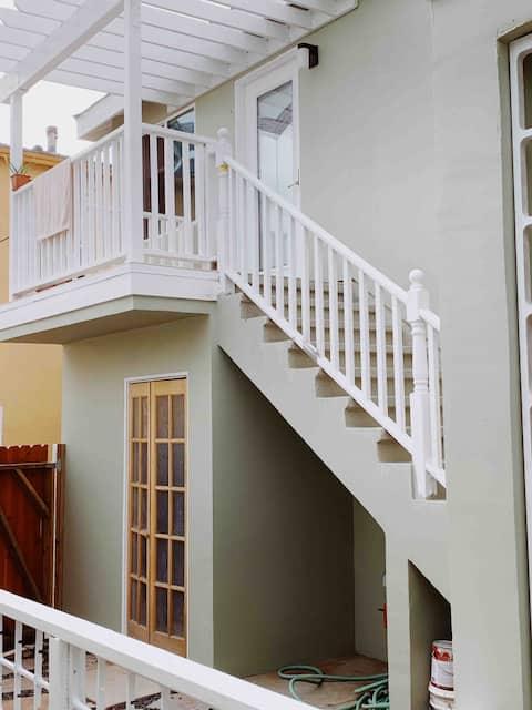 Nice one bedroom  in a 3B Condo @Santa Monica