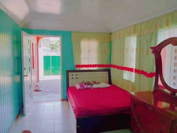 SIMPLE BIG GUEST ROOM IN ROXAS CITY AIRCONDITIONED