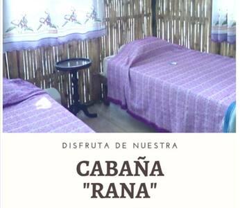 """CABAÑA RÚSTICA """"RANA"""" - CASA BAMBUTAN"""