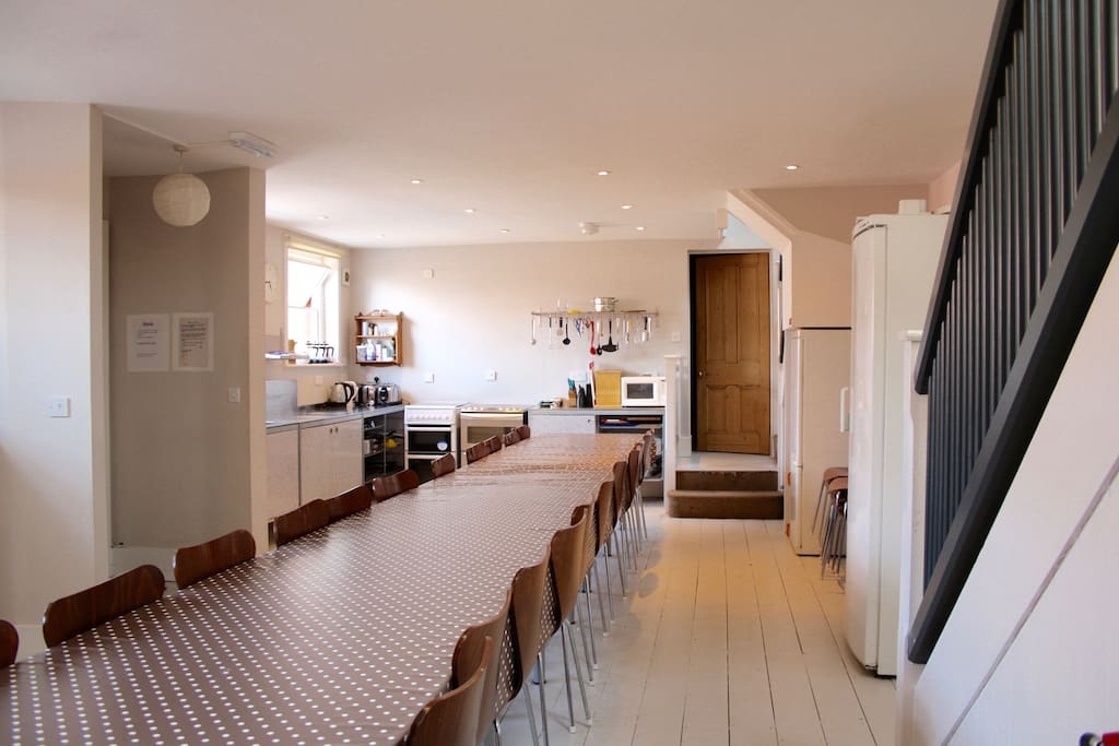 Large kitchen-dining space, seats everyone together!