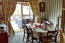 Dining Room leading on to veranda