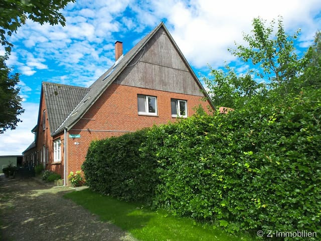 Korndeichhof Ferienwohnung Everschop - Garding - Apartmen