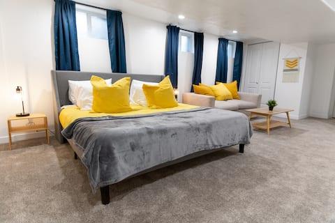 Happy Yellow Basement Suite