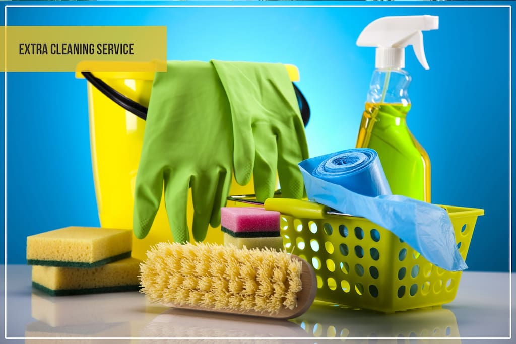 Extra cleaning service