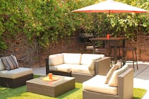 Your own private back patio...!