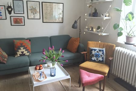 Cozy apartment 400 m. from the station - Aarhus