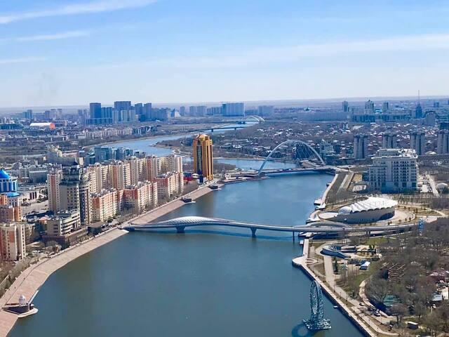 Апартаменты с панорамным видом на набережной
