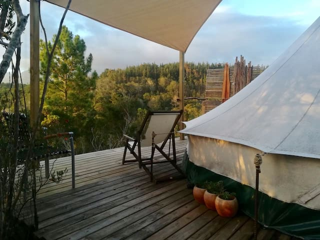 The Rise&Shine Mountain Bell Tent