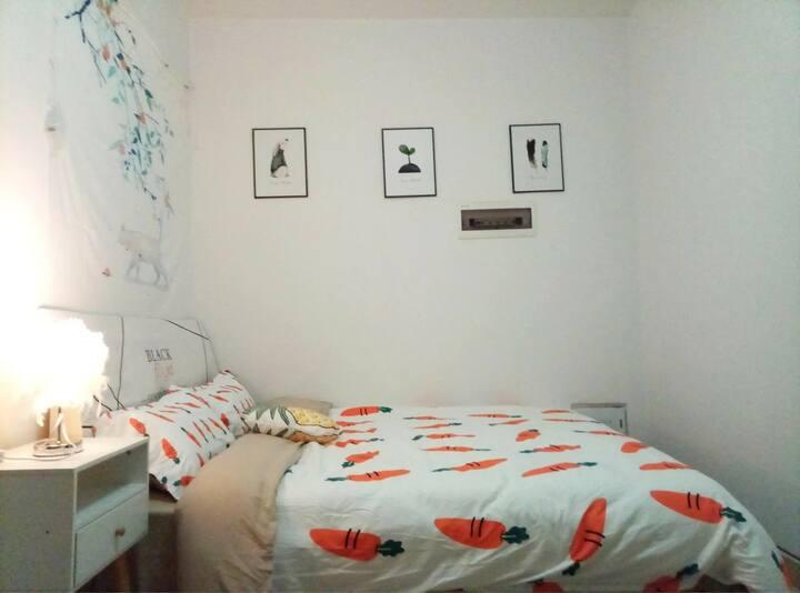 江川圣境夜景房,可做饭,地铁口,独立卫生间,洗衣机家电齐全
