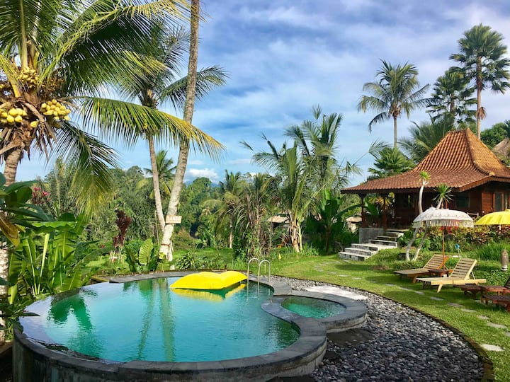 PROMO -Romantic SANDE Sebatu Cottage, Ubud