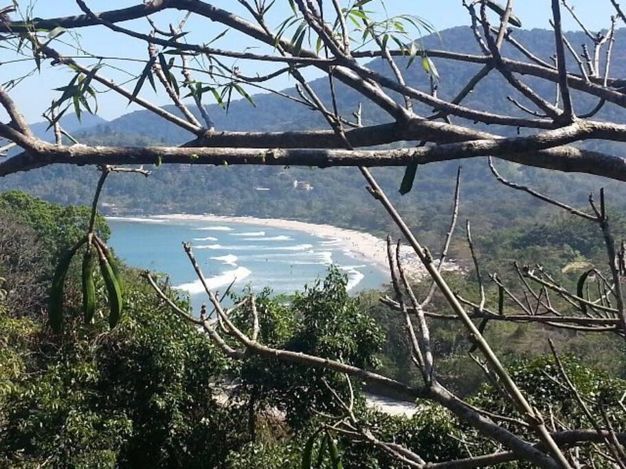 Vista da praia da Praia do Sahy