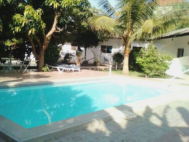 Banana Lodge - A lush tropical oasis