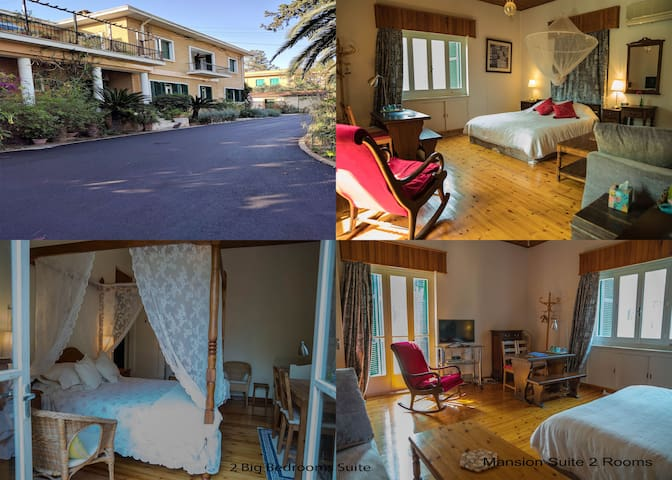 Mansion Suite, Two Big Bedrooms, Private Bathroom - Nicosia - Bed & Breakfast
