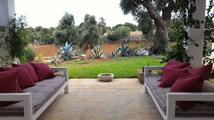 Luxury Masseria Auina with private pool