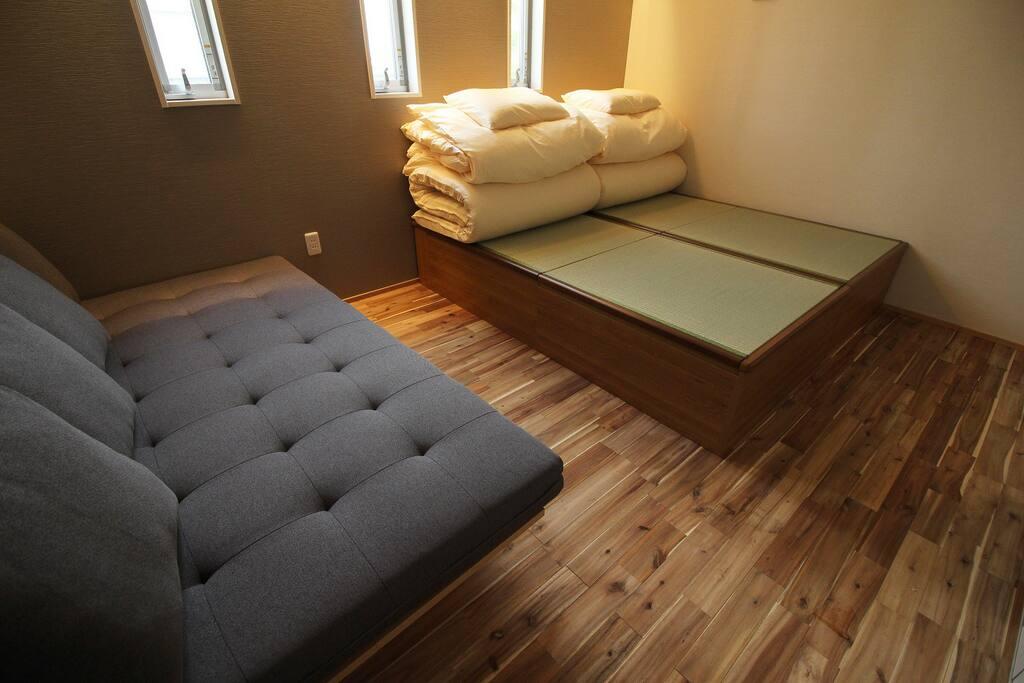 3名様利用可能ツインルーム/Large Twin Room