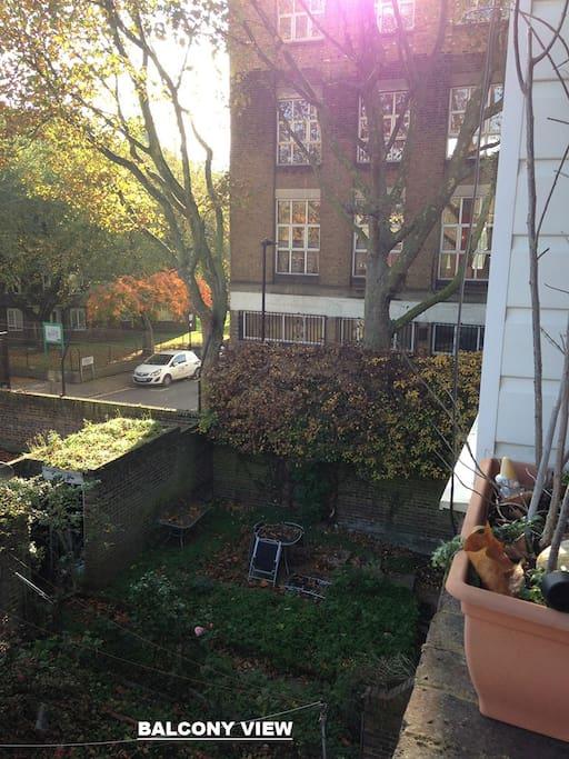 Access to balcony from bedroom