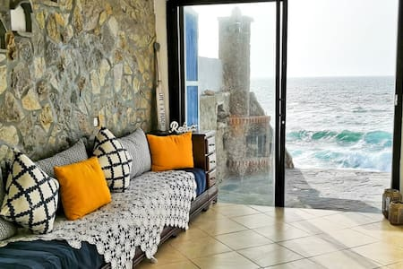 Remote Ocean House