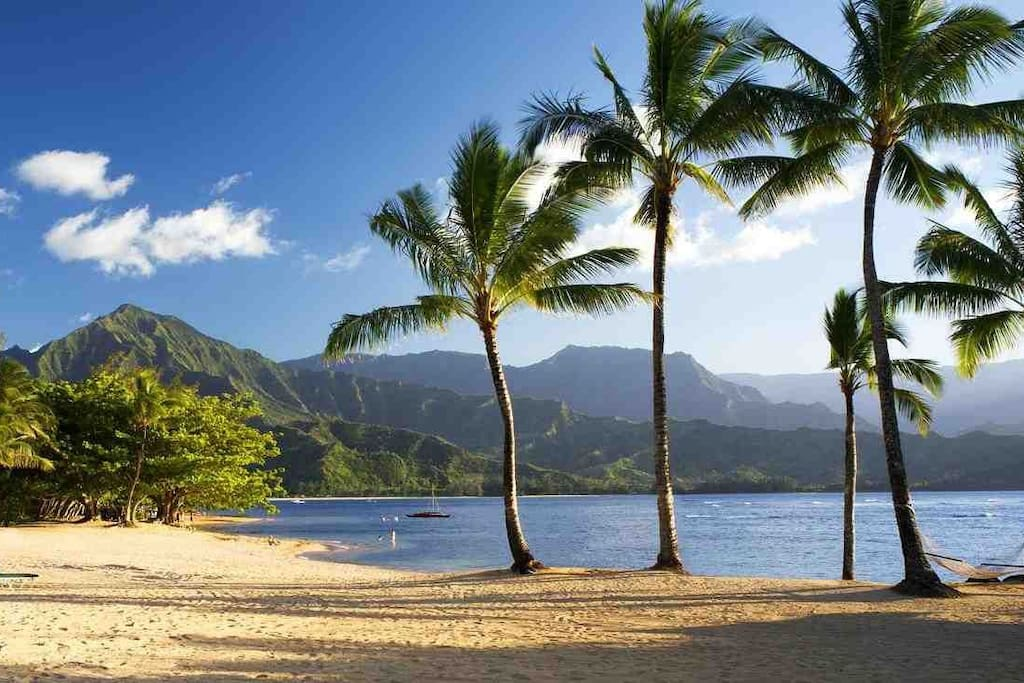 Beach at Hanalei Bay Resort