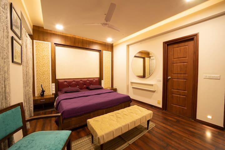 Master Bedroom - - Bathroom + Closet + Balcony