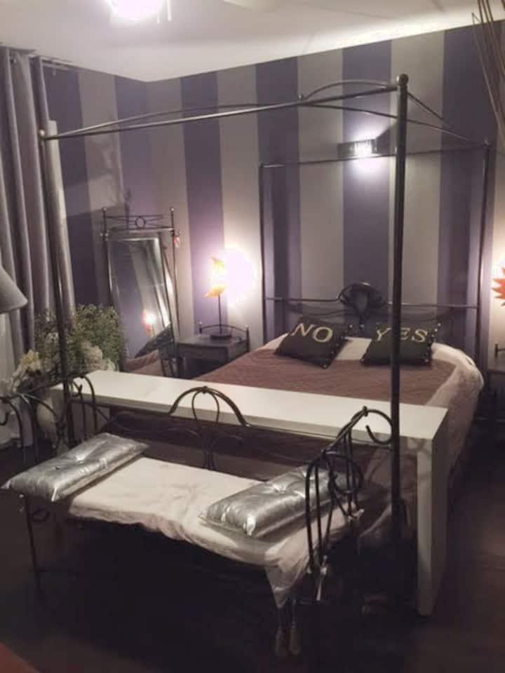 Location une chambre double à 15 mn de Lyon Centre